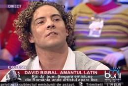 David Bisbal la Rai da Buni