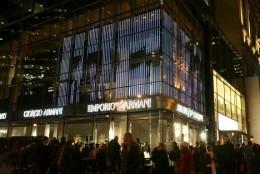 Noul boutique Armani