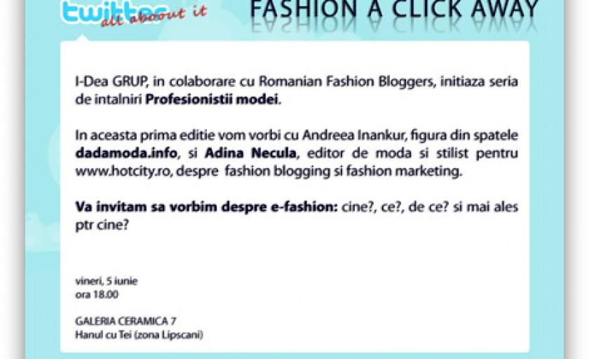 Profesionistii modei in mass-media