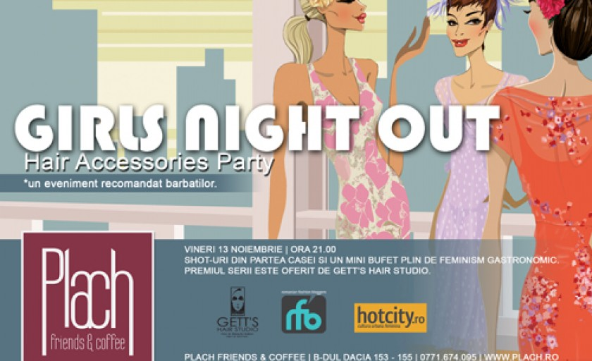 Girls Night Out: Hair Accessories Party