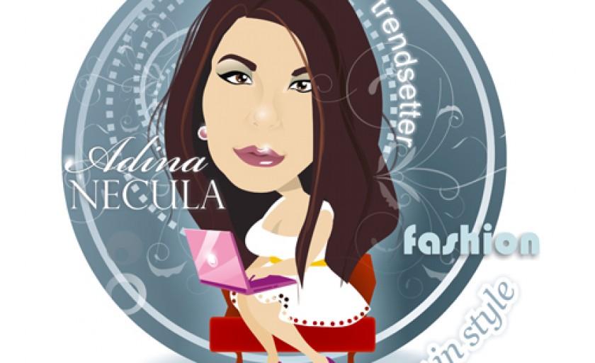 Caricatura mea semnata Nicoleta Ionescu