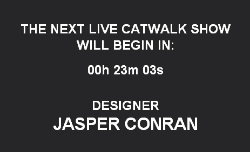 Live blogging: Jasper Conran f/w 2010-2011 @LFW