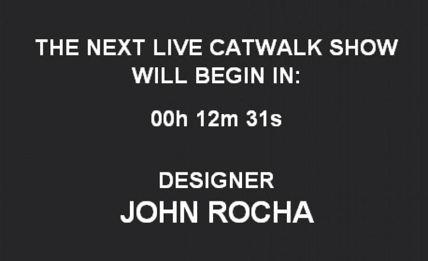 Live blogging: John Rocha f/w 2010-2011 @LFW