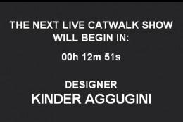 Live blogging: Kinder Aggugini f/w 2010-2011 @LFW