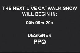 Live blogging: PPQ f/w 2010-2011 @LFW