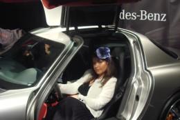 Mercedes Benz SLS AMG la rampa