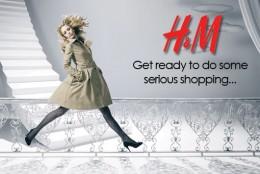 H&M vine in Romania