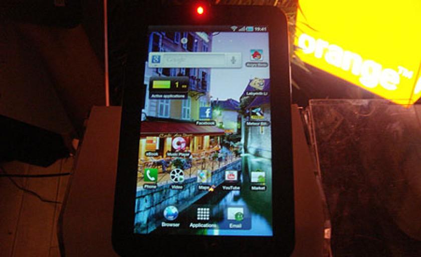 Lansarea Samsung Galaxy Tab in Romania