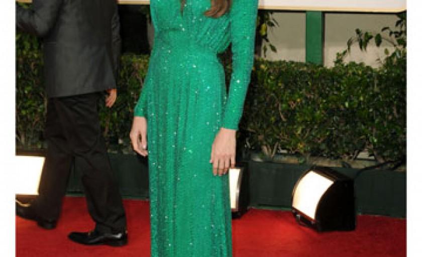 Nuantele de verde au dominat Gala Globurile de Aur 2011