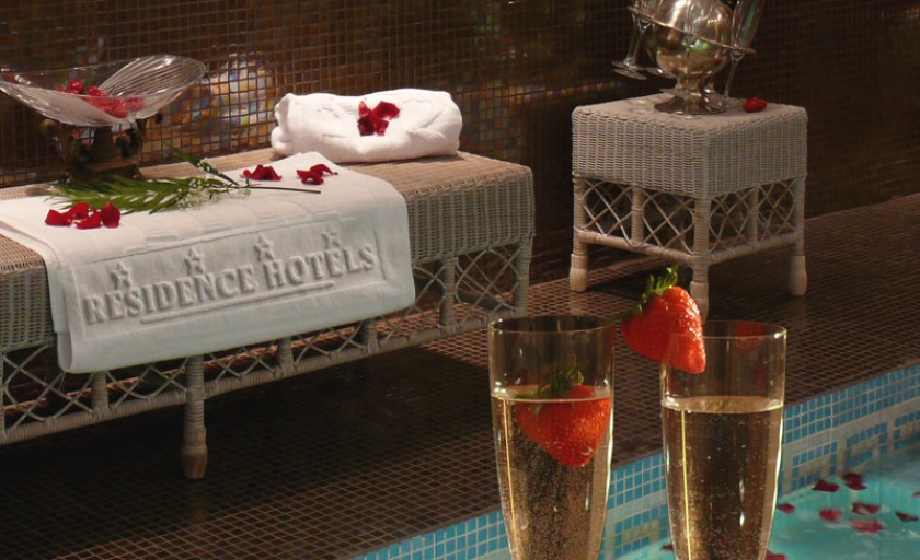 O seara romantica la Residence Hotels