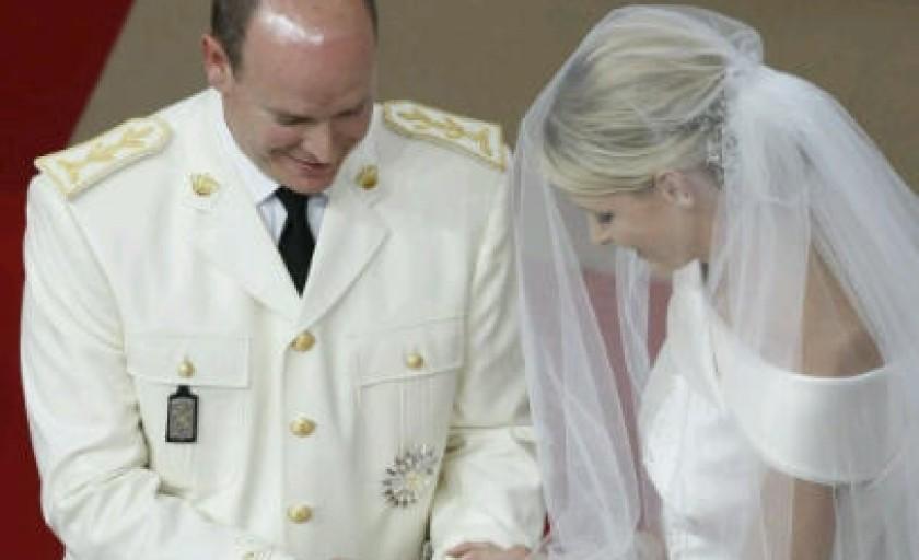 Nunta princiara in Monaco: Printul Albert si Principesa Charlene