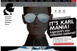 Colectia Karl Lagerfeld pentru net-a-porter
