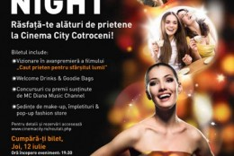 Concurs flash: castiga o invitatie la Ladies Night (Cinema City)