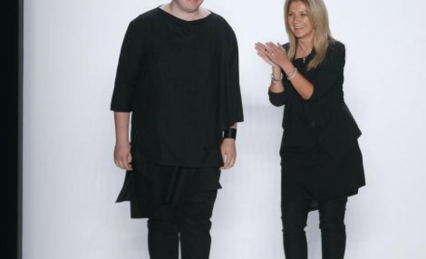 Irina Schrotter by Lucian Broscatean primavara-vara 2013 (Berlin Fashion Week)
