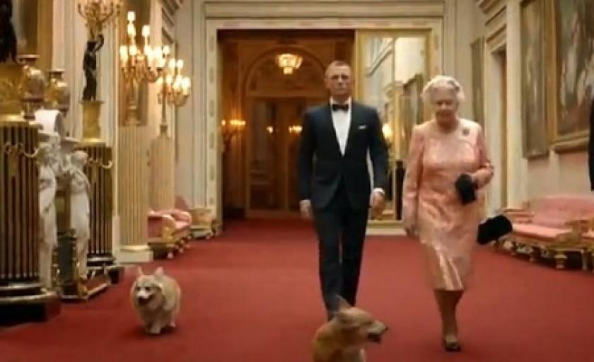 Duo-ul surpriza al Jocurilor Olimpice: Regina Elisabeta a II-a si James Bond
