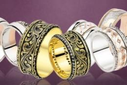 Top 5 modele de verighete pentru nunta: La Rosa