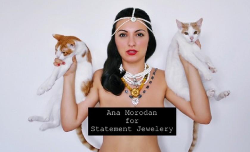 Coliere statement: colectia semnata Ana Morodan pentru Statement Jewelry