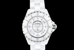 Timpul Chanel: J12 White