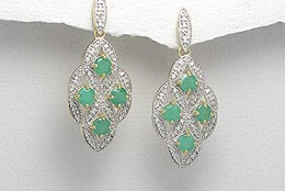 Fascinatia smaraldelor incrustate in bijuterii