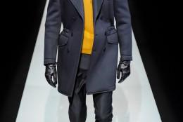 Tendinte moda masculina toamna-iarna 2013-2014: Emporio Armani