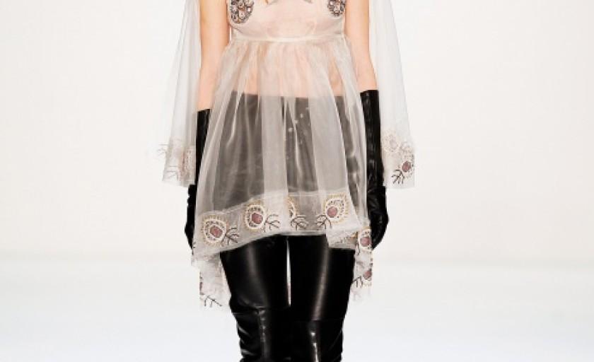 Andra Clitan toamna-iarna 2013-2014 (Berlin Fashion Week)