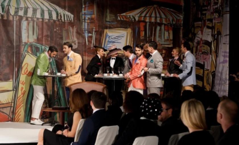 Lady vs Gentleman 2013 by Alexandru Ciucu: colectia de costume masculine si feminine