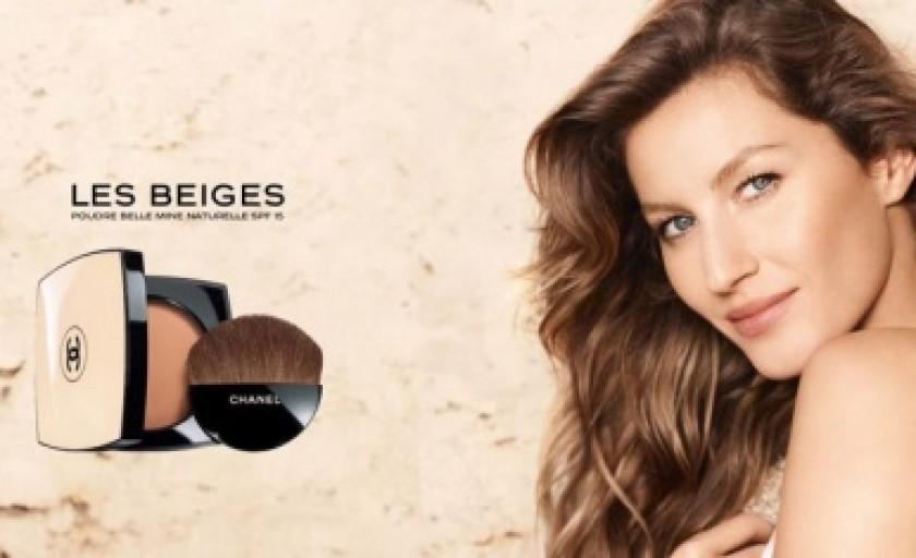 Les Beiges (Chanel): pudra compacta pentru un ten mangaiat de soare
