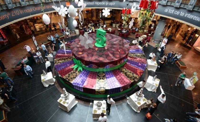Baneasa Shopping City aniverseaza 5 ani