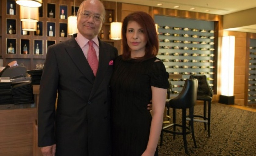 Meeting the founder of La Prairie and Bellefontaine Cosmetics
