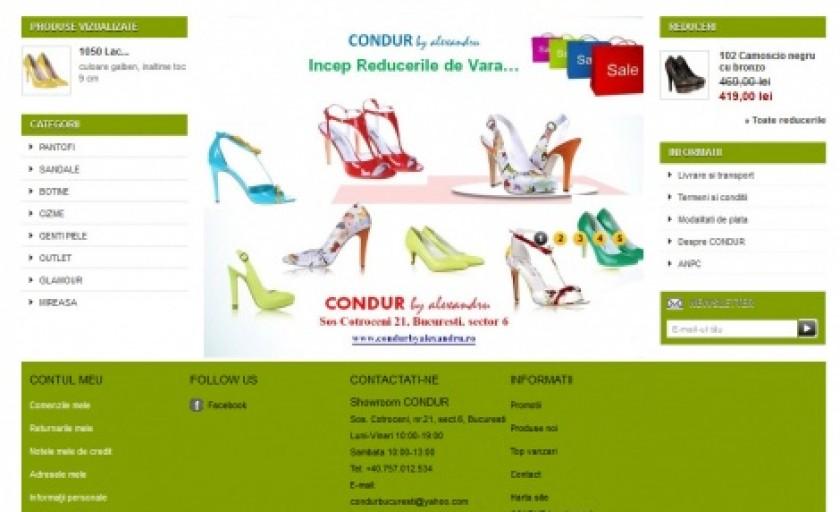 CONDUR by alexandru lanseaza magazinul online www.condurbyalexandru.ro