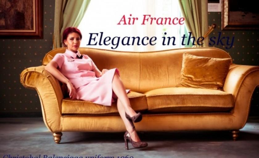 Eleganta la inaltime: moda pe aripile Air France