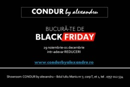 Black Friday la CONDUR by alexandru
