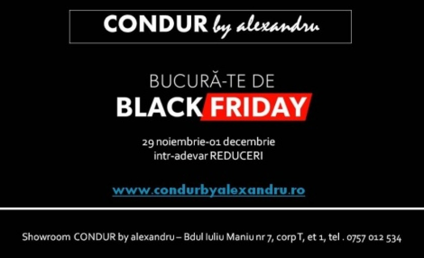 Black Friday la CONDUR by alexandru