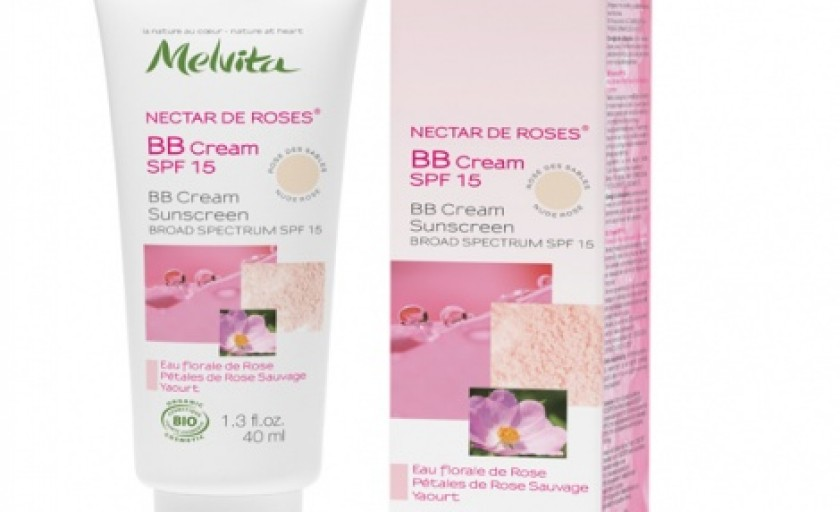 Melvita Rose Nectar BB Cream: o atingere delicata pentru un ten radios