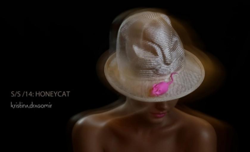 Honeycat by Kristina Dragomir: palarii cu aer felin si ludic