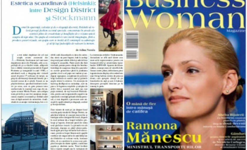 Estetica scandinava (Helsinki): al doilea articol in Business Woman