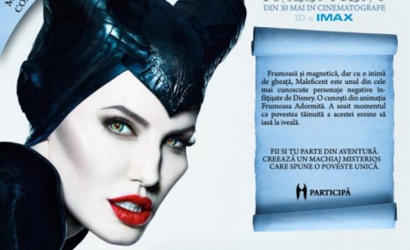 Castiga produse de make-up MAC si piese de colectie Maleficent