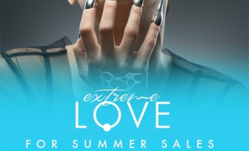 Extreme LOVE for summer SALES: -25% la bijuteriile Moogu Contemporary Jewellery