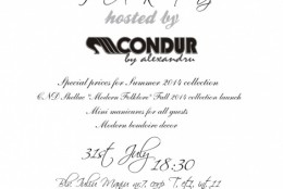Final Summer Sales PARTY hosted by CONDUR by alexandru