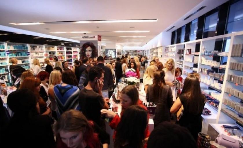 Redeschiderea magazinului Topline si Top Beauty Trade Show