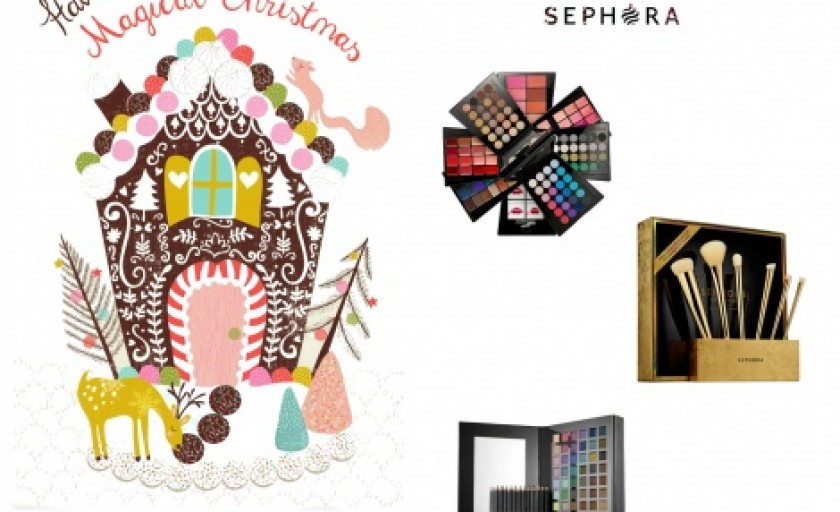 Magic Christmas #5: editiile limitate si paletele de machiaj speciale Sephora