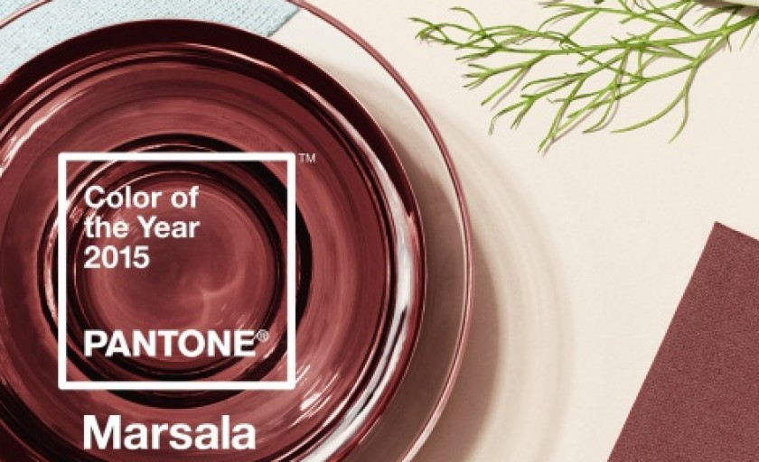 Marsala: culoarea anului 2015 si coordonatele integrarii sale in vestimentatie