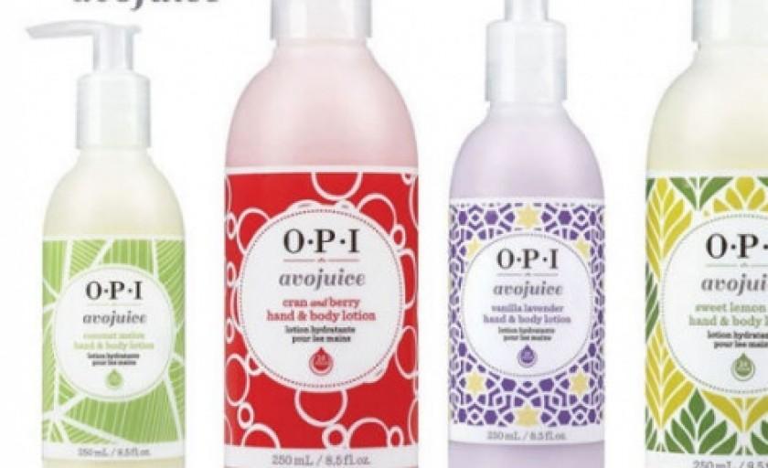 OPI Avojuice: o piele intens hidratata si rasfatata cu aroma florilor de primavara