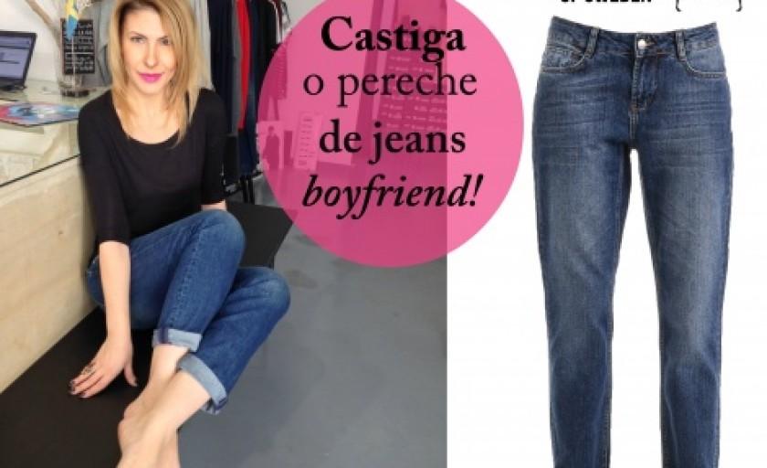 Concurs Superjeans of Sweden: boyfriend jeans si reactualizarea unei piese clasice in garderoba casual