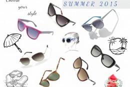 Amprente stilistice surprinse in noile modele de ochelari de soare: selectia OPTIblu pentru vara 2015