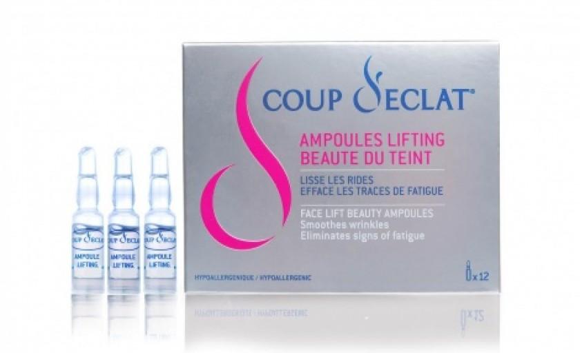 Frumusete contra-cronometru: fiolele pentru lifting instant Coup D'Eclat (Asepta)