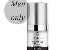 Cosmetica masculina: crema pentru conturul ochilor Power Eye Cream (Clarena)