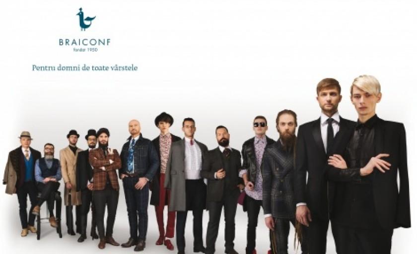Braiconf: o noua abordare a vestimentatiei masculine si reinventarea celui mai longeviv producator autohton de camasi