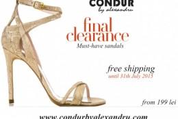 Reduceri finale si transport gratuit la CONDUR by alexandru