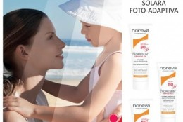 Noresun Gradual UV: prima gama de produse dermato-cosmetice foto-adaptative